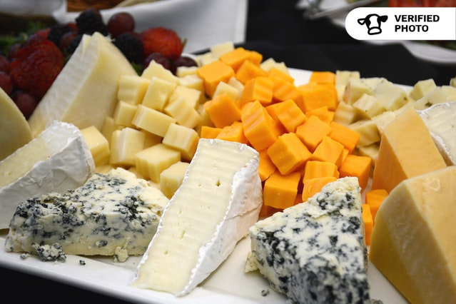 Meat, Cheese, and Fruit Event Displays