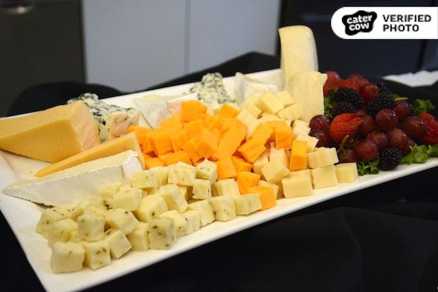 Fresh Fruit & Cheese Board