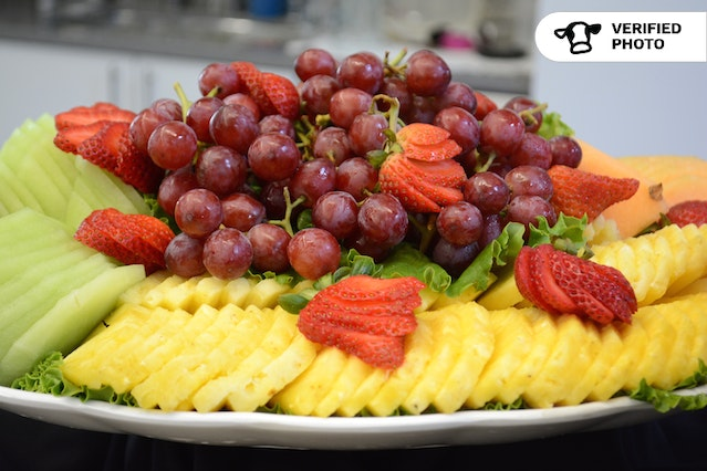 Seasonal Fresh Fruit and Berry Platter