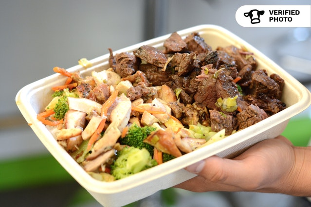 Build Your Own Asian Box (Larger Portion Big Box)