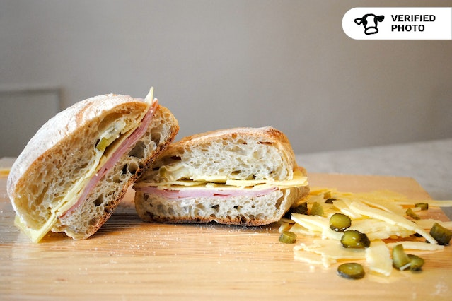 Rustic French Country Picnic Sandwiches