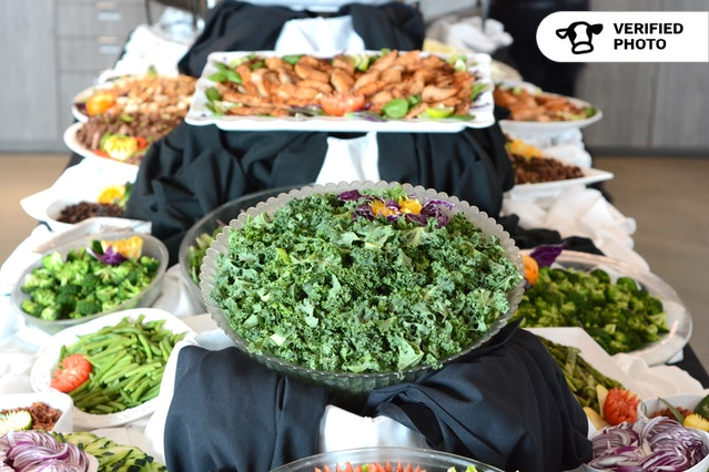 Deluxe Salad Bar with Gorgeous Setup
