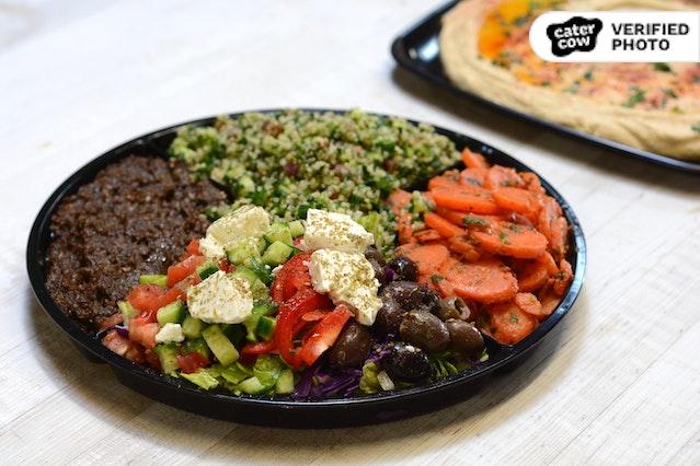 Oren's Classic Mediterranean Dips & Spread Platter