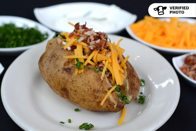 Do It Yourself Baked Potato Bar