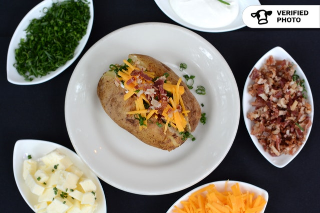 Do It Yourself Baked Potato Bar