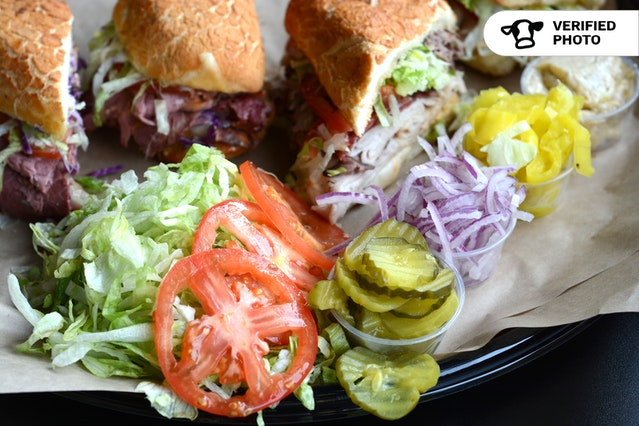 Do-It-Yourself Sandwich Bar
