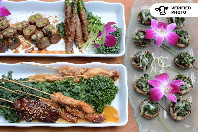 Elegant Hors D'oeuvres Feast (Bar Add-ons Available)