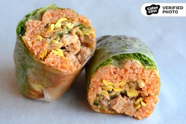 """Ssam Korean """"Burrito"""" Wraps"""