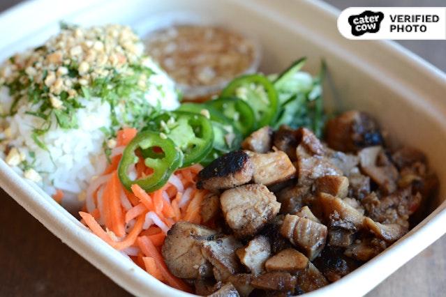 Individual Asian Fusion Healthy Rice Bowl