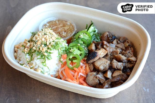 Individual Vietnamese / Asian Fusion Healthy Rice Bowl