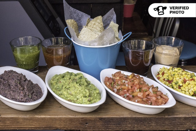 Fiesta Party! Guac, Chips & Dips