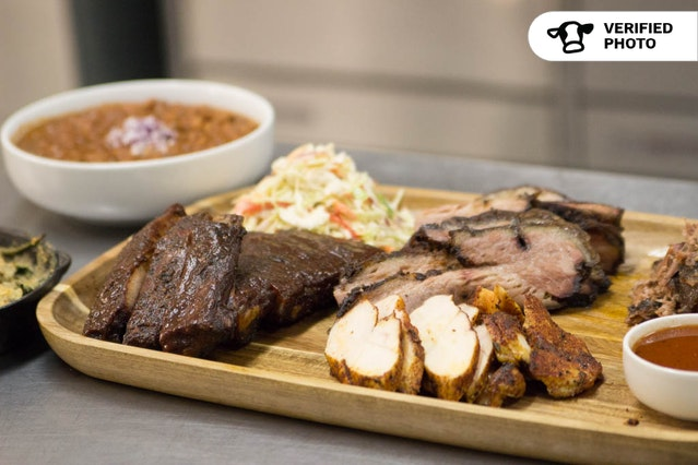 BBQ with Brisket & the Works