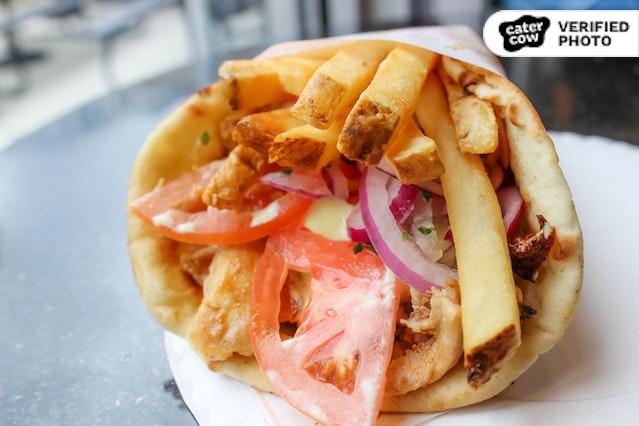Gyro City Pita Wraps with Salad