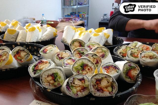 Sushi Burrito!