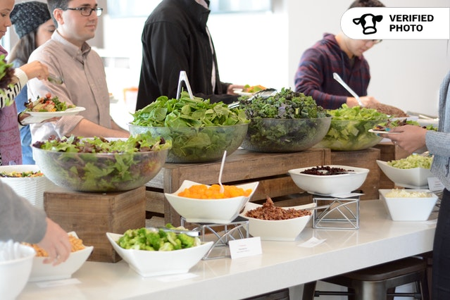 Simple DIY Salad Bar