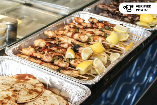 Build Your Own Mediterranean Grill Plate