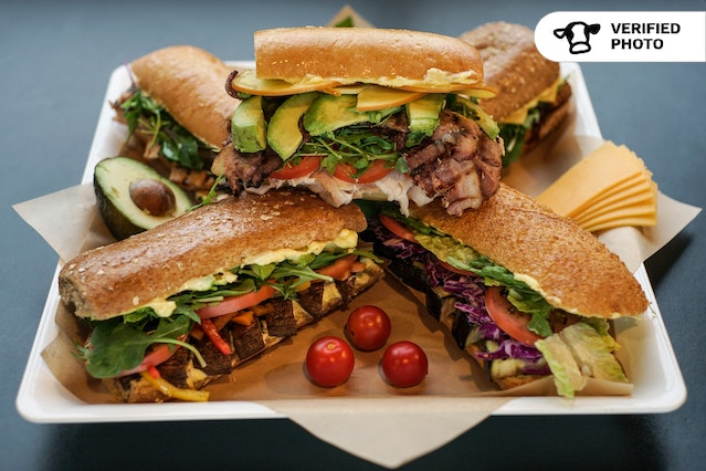 Specialty Sandwiches (Local, Organic, Tasty!)