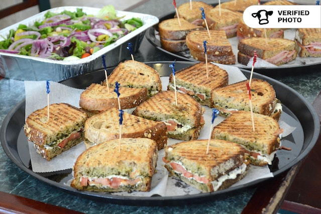Classic Grilled Paninis with Salad