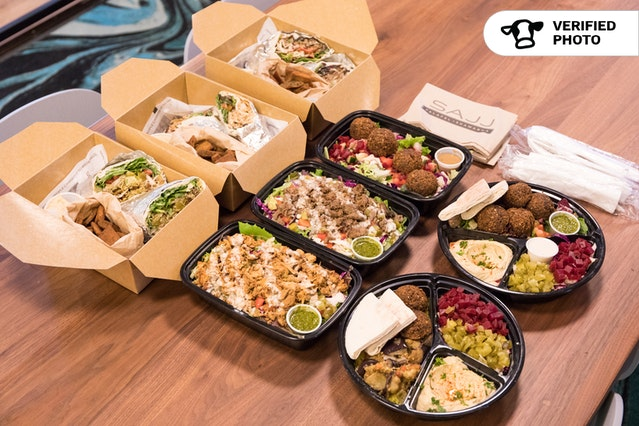Grab & Go Mediterranean Boxed Meals