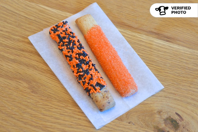 Colorful Cookie Sticks For Halloween