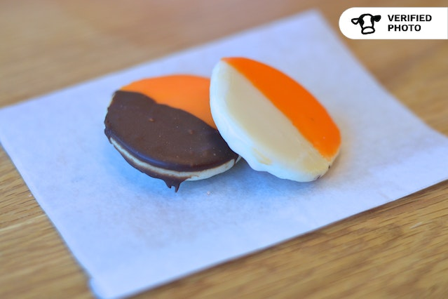 Two-Tone Halloween Cookies