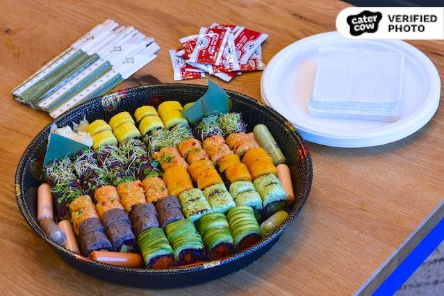 Made-to-Order VEGAN Sushi Platter