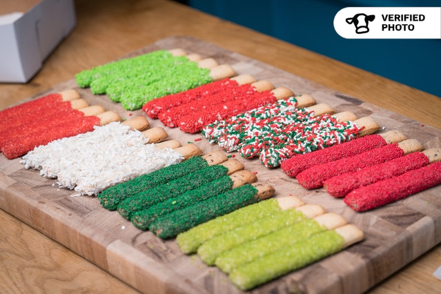 Christmas Cookie Minnie Sticks