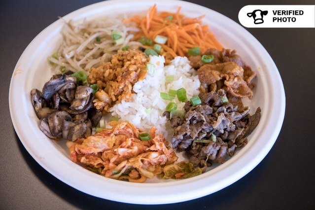 Bobcha's Korean Rice Bowl Bibimbap Meal