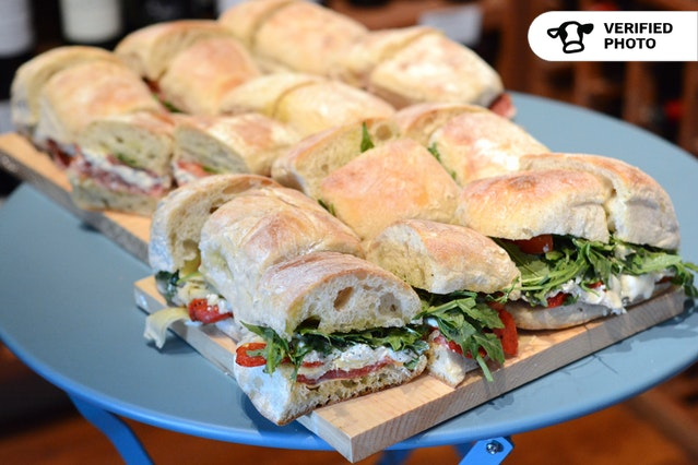 French Country Sandwich Platters with Side