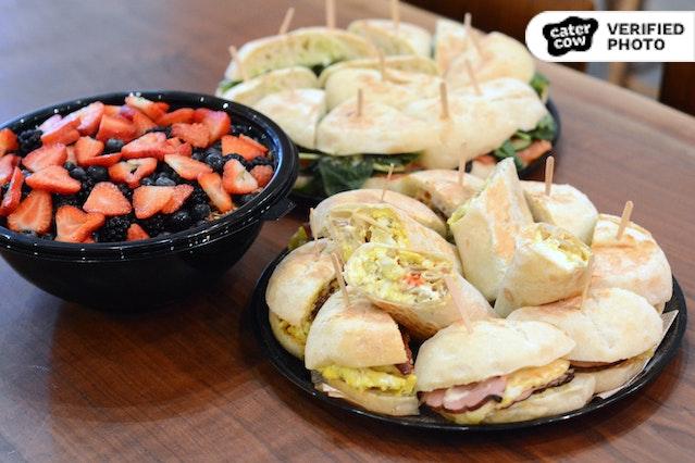 Hot Breakfast Sandwich Meal
