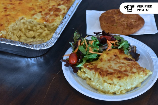 Mac & Cheese Partay with Salad & Cookies!