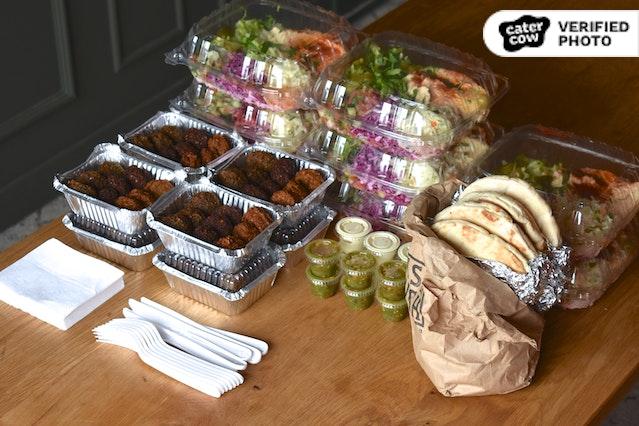 Nish Nush Individual Hummus & Israeli Platters
