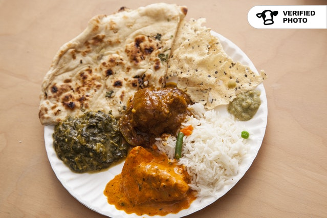 Indian Dishes & Naan