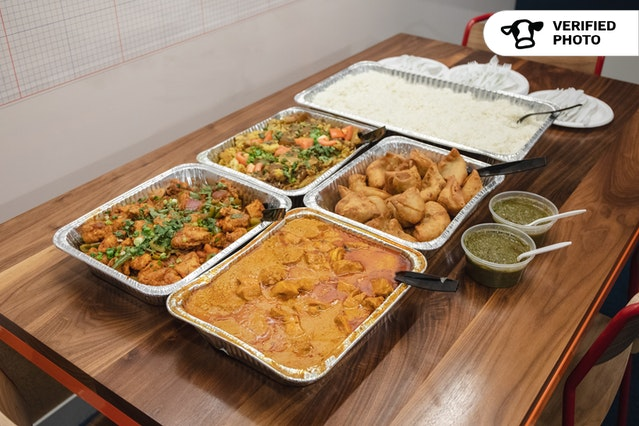 Traditional Indian Buffet