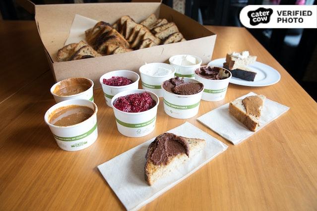 Nourish Cafe's Toasts & Spreads
