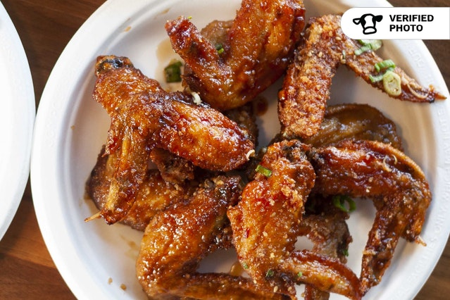 Korean Fried Chicken Wings!