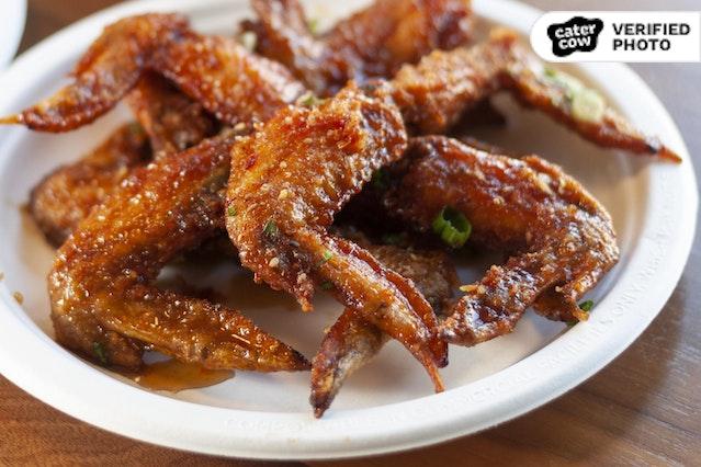 Korean Fried Chicken Wings!