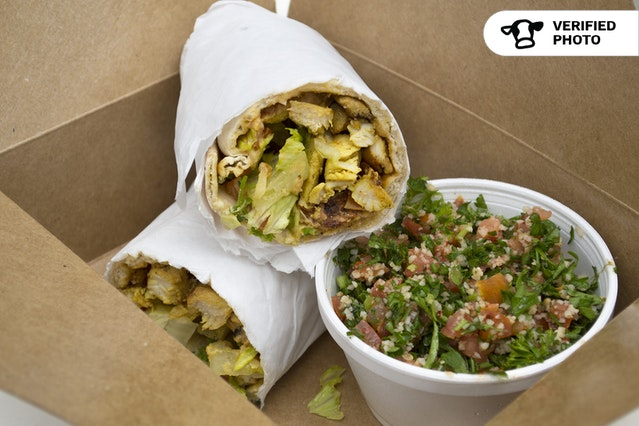 Mediterranean Wrap Meal