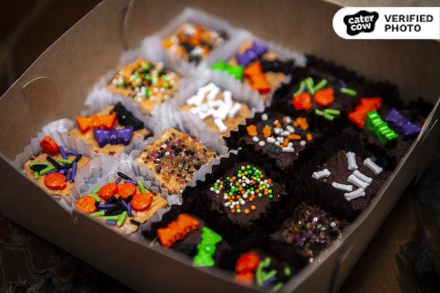 Bite-Sized Halloween Dessert Bars