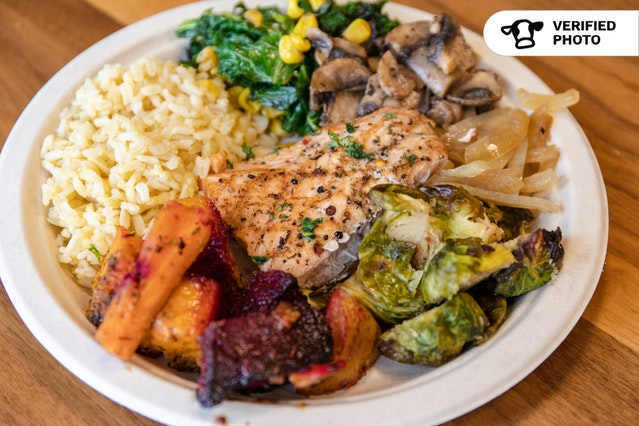 Build Your Own Quinoa & Rice Bar