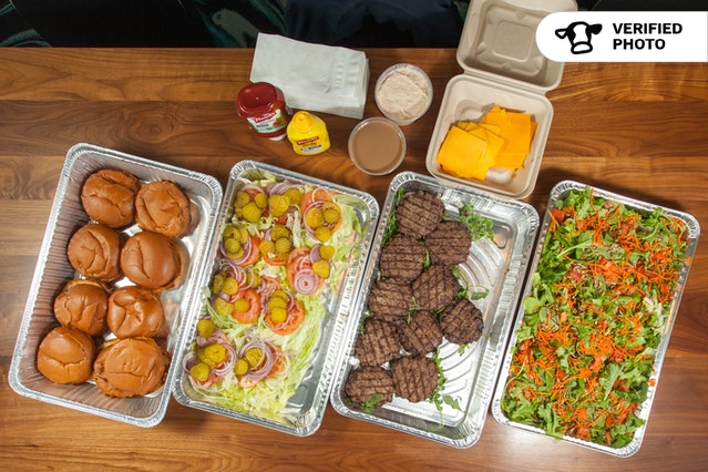 Charbroiled Burger Bar & Salad