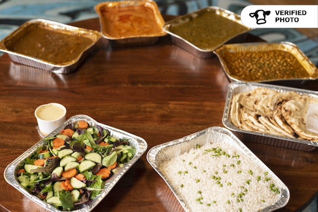 Indian Buffet by Palace of Spices