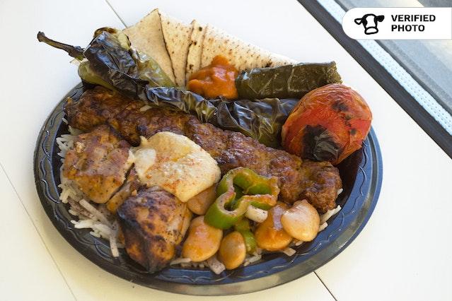Classic Affordable Kabob Factory Mediterranean Buffet