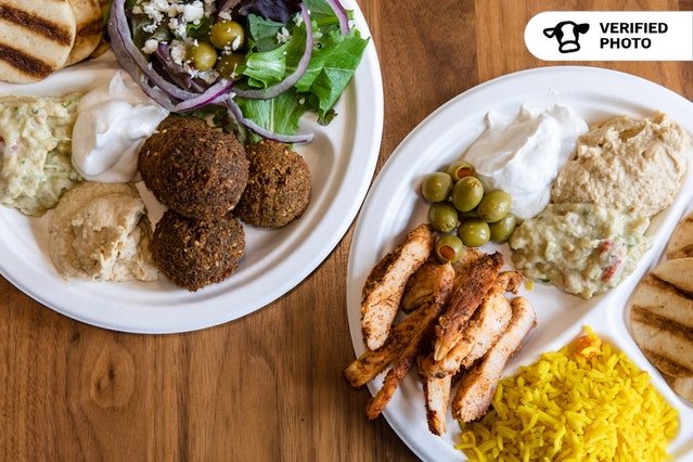 BYO Mediterranean Meal with Pita