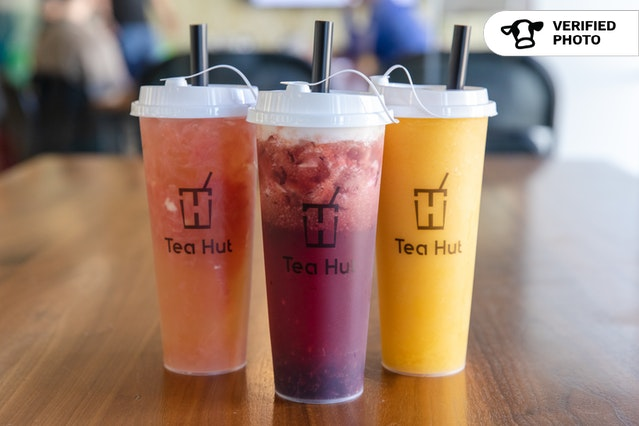 Frozen Fruit Teas by Tea Hut