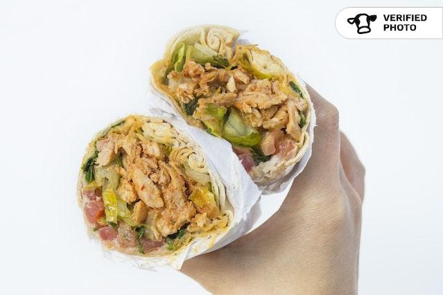 Shawarma Pita Wraps Meal