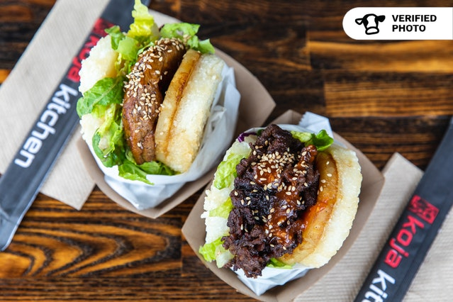 KoJa Korean-Fusion Rice Burgers (Individually-Wrapped)