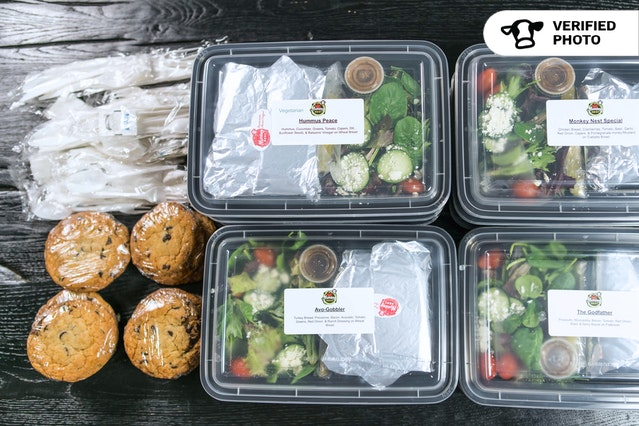 Meal Boxes: Sandwich, Sides & Dessert!