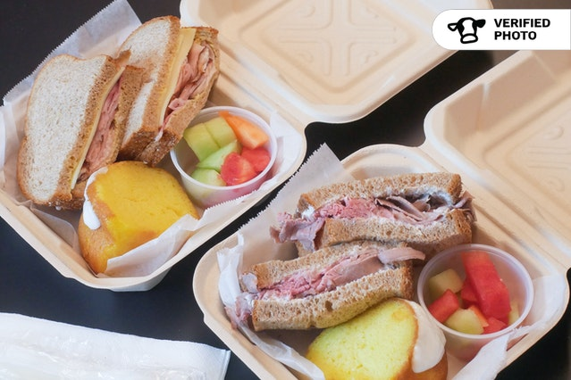 Grab n' Go Sandwich Boxes
