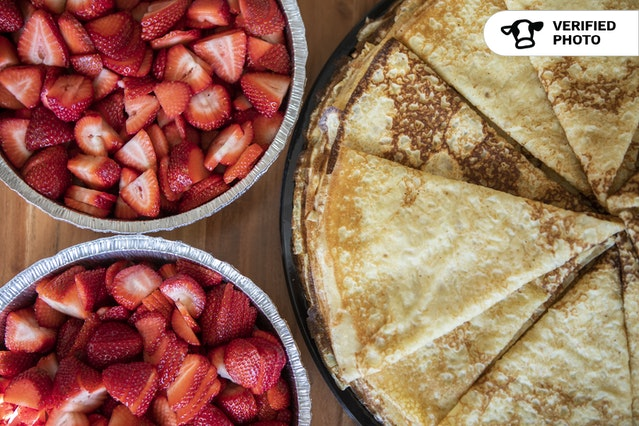 Build Your Own Sweet Crepes